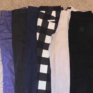 4 pairs of banana republic pants